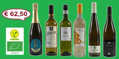 Proefdoos Witte wijnen Bio