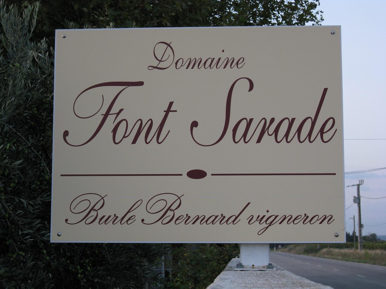 Font Sarade Bernard Burle